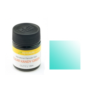 [IPCL212] Clear Candy Green 18ml